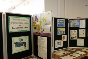 Outwood School Fairtrade display